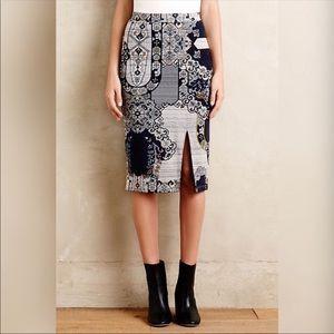 Anthro HD in Paris acanthe skirt